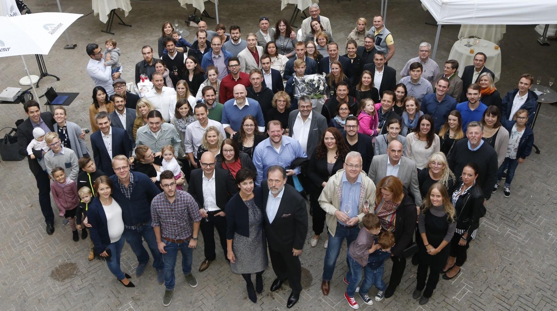 30 Jahre m+p Gruppenbild